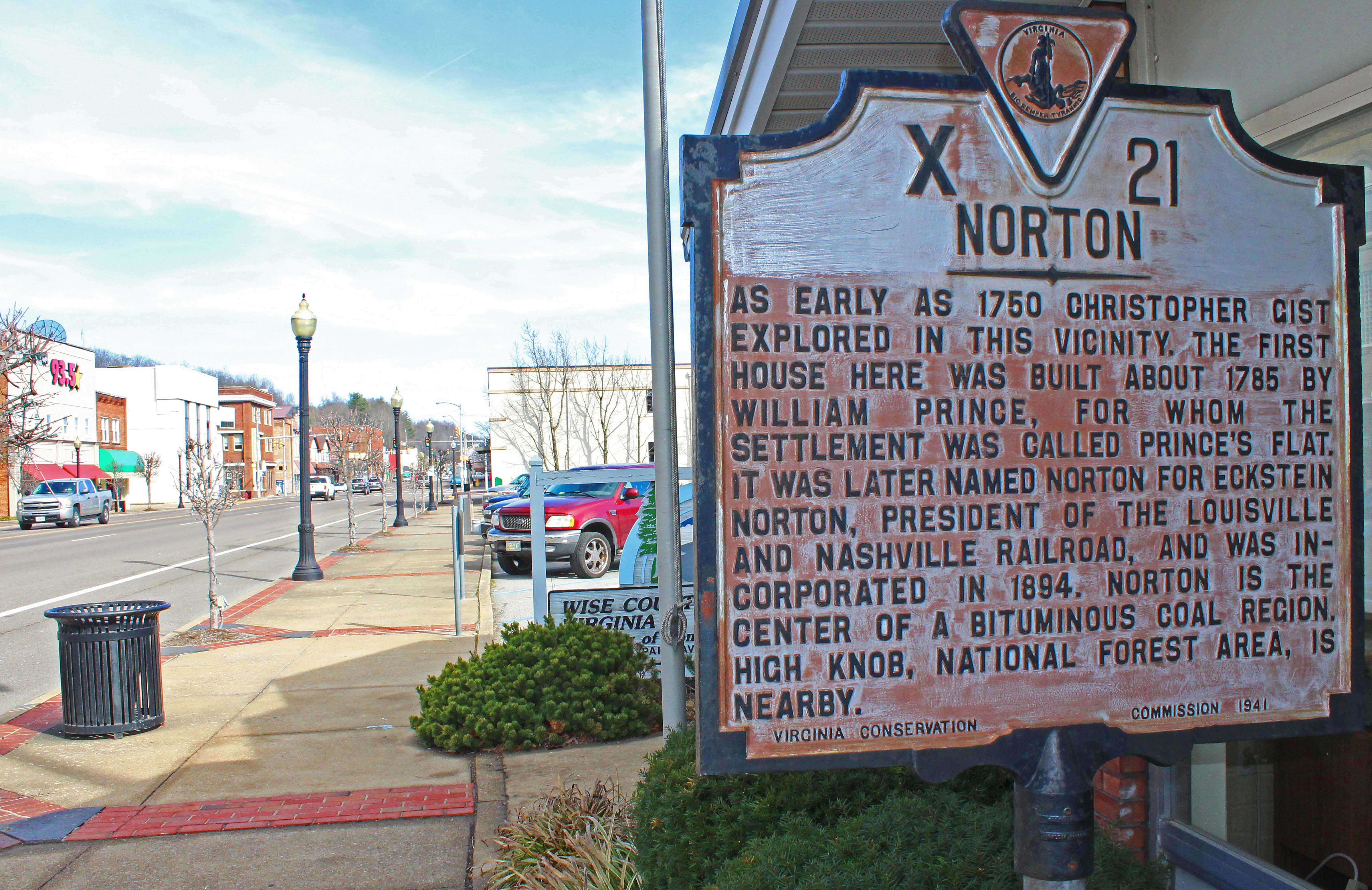 Picture of Norton historical marker
