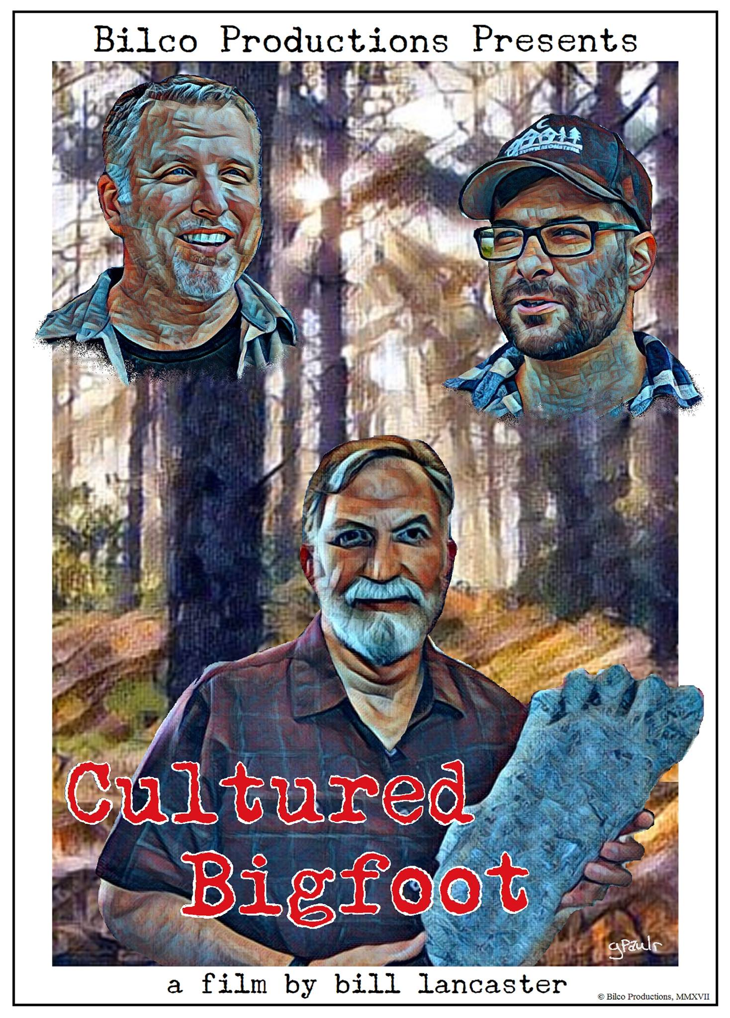 Photo of Cultured Bigfoot Movie Poster