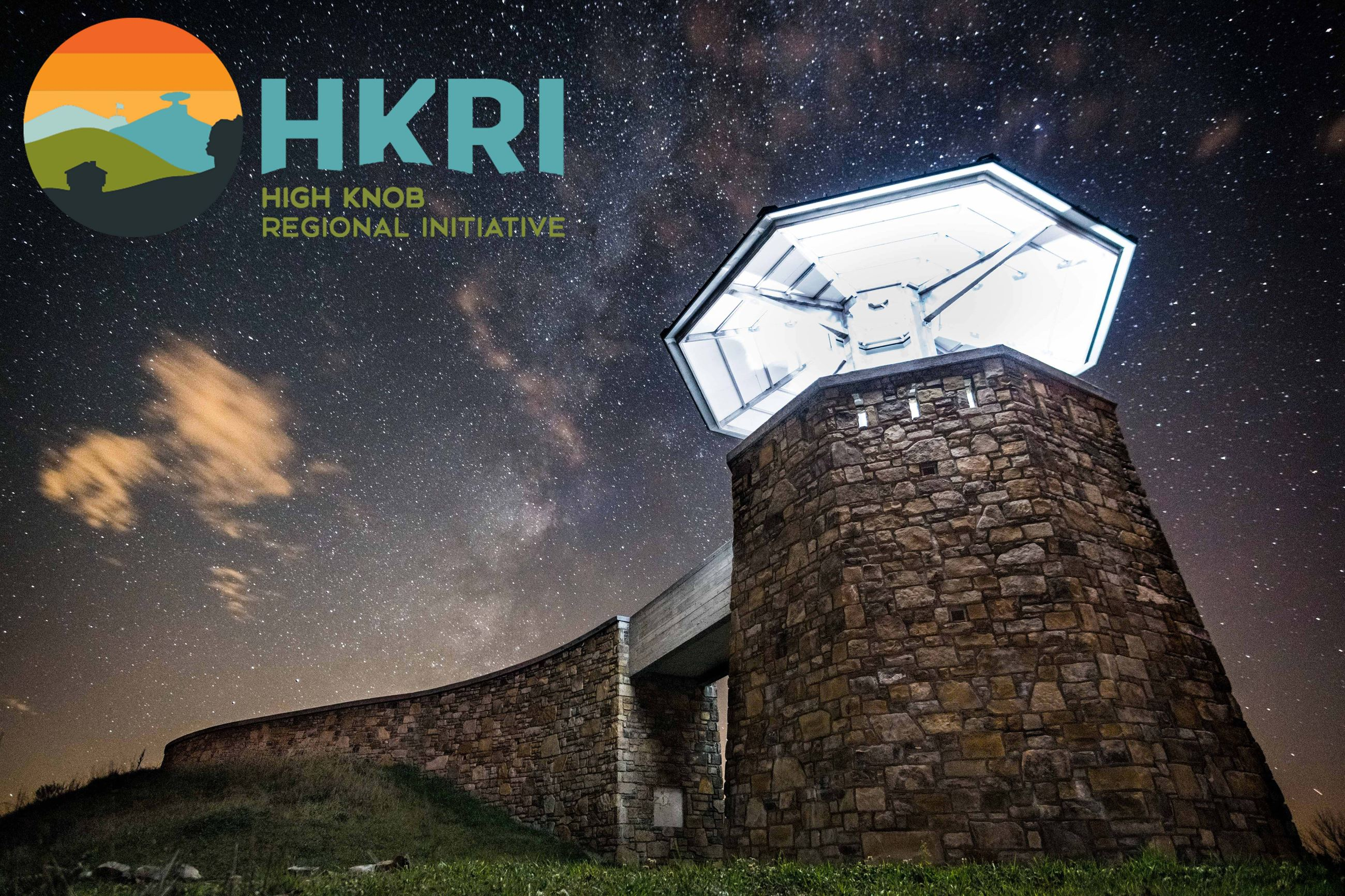 High Knob Tower with HKRI photo