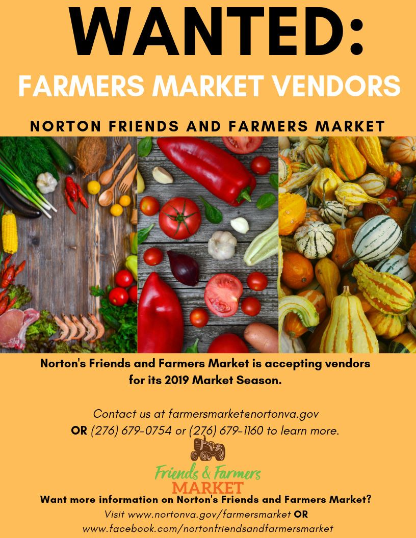 Farmers Market Vendor Advertisement