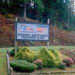 Welcome sign to the C-N-W Plant