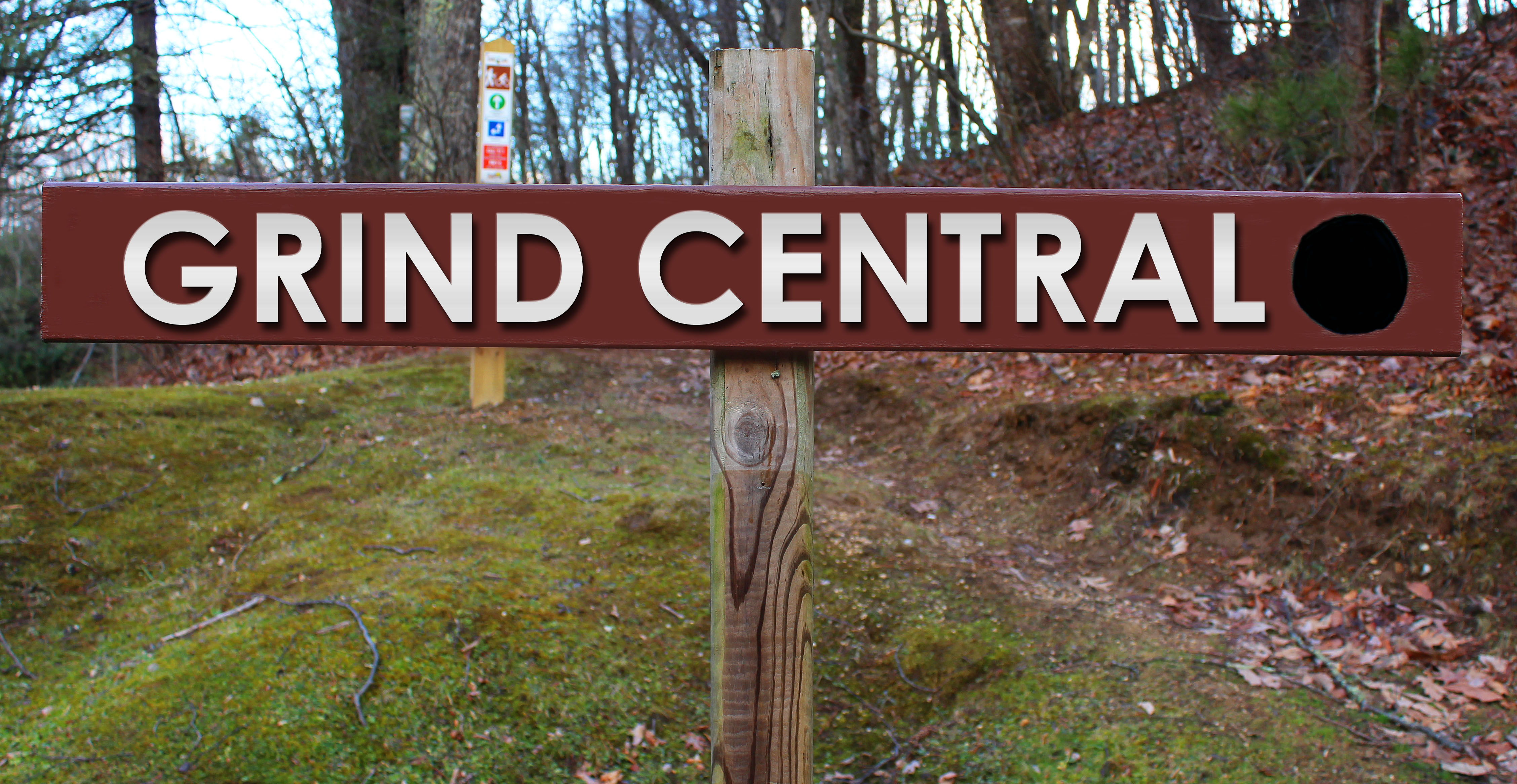 Picture of Grind Central trail sign