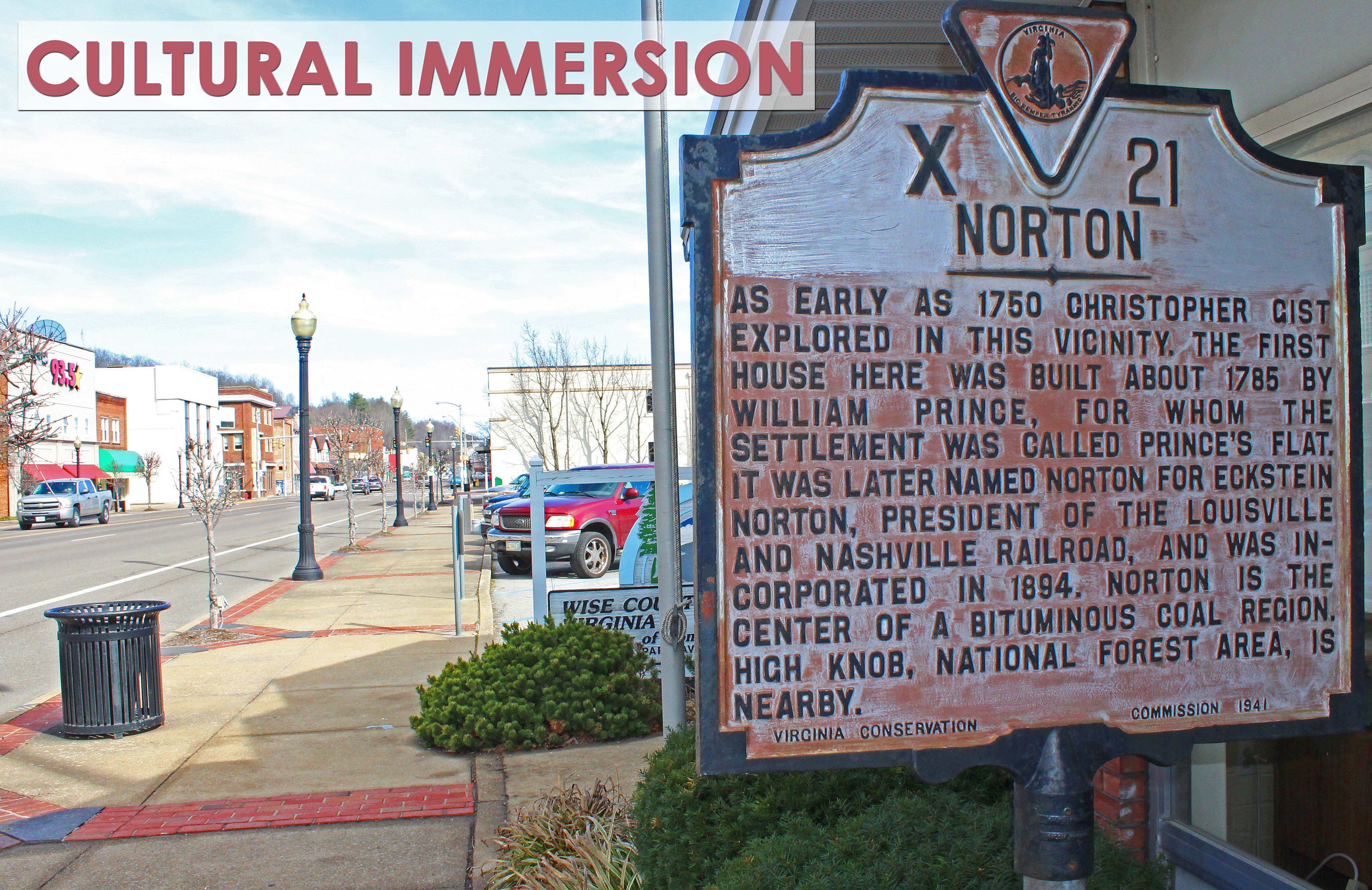Picture of Norton historic sign